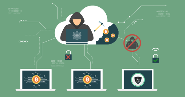Crypto jacking; beware of miners stealing you coins!